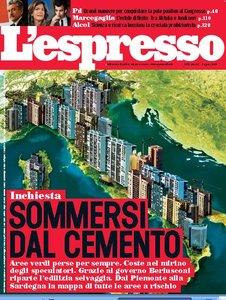 Press coverage Federico Delrosso on L'espresso magazine 2009
