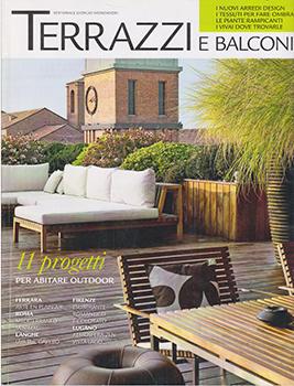 Copertura satampa per Federico Delrosso sulla rivista Terrazzi e Balconi 2010