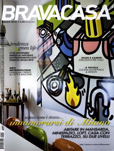 Articolo su Federico Delrosso su BravaCasa 2010
