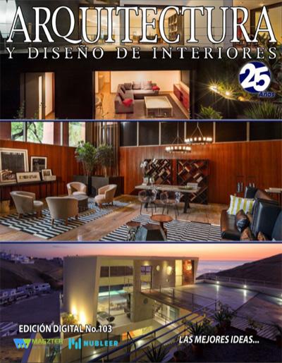 Press coverage for Federico delrosso on arquitectura y diseno de interiores 2014
