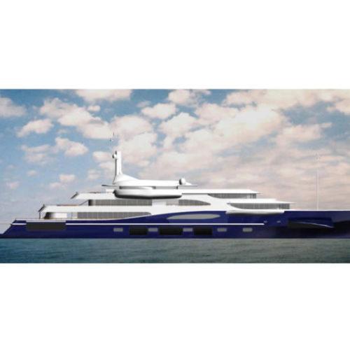 motor yacht MY80 rome IT