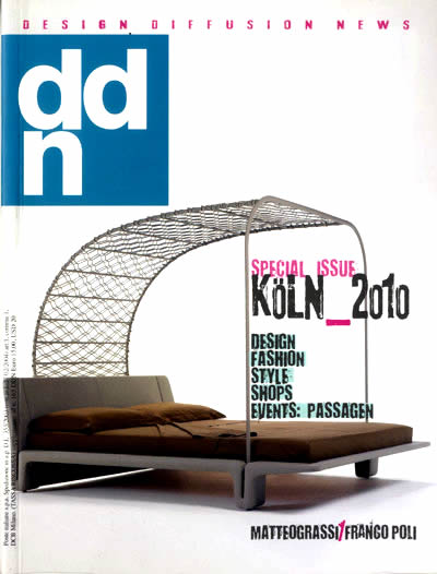 Press Coverage for federico delrosso on ddn special issue koln 2010