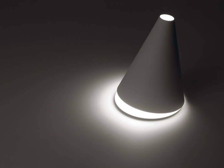 palpebra table lamp by federico delrosso