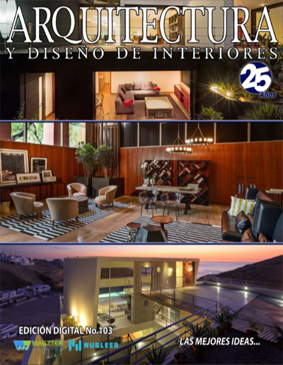 Press coverage for Federico delrosso on arquitectura y diseno de interiores 2014