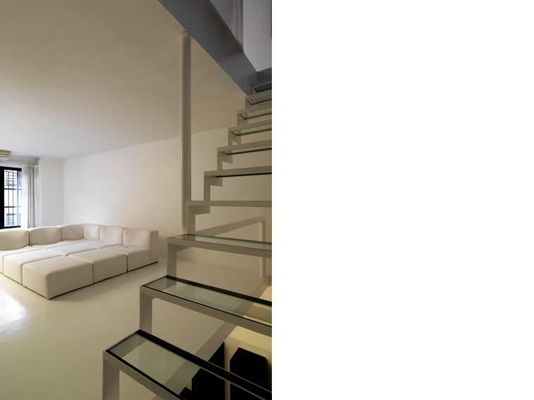 stairs loft as milan