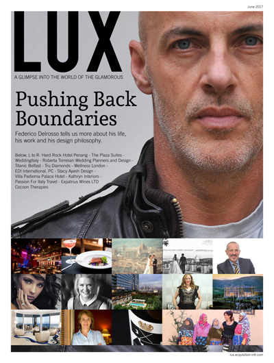 Federico Delrosso on LUX: Pushing back boundaries