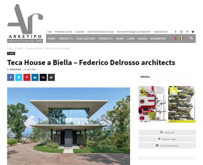 arketipo_Teca House_Federico Delrosso