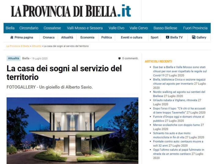 La Provincia Di Biella_FDA_Teca House